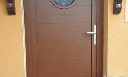Portes d'entrée Mixte, Bois, Alumunium MINCO